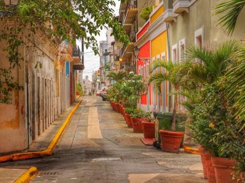 City of Old San Juan in the metro region of Puerto Rico.